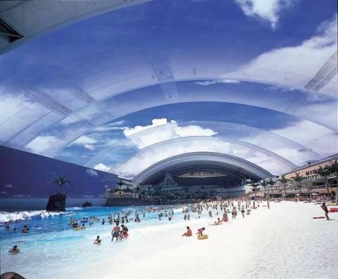 Pantai Indoor Jepang